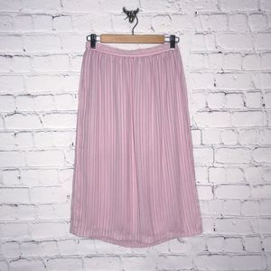 Vintage Wrap Skirt Pink Striped by Ronnie Ronnie